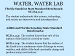 water water lab