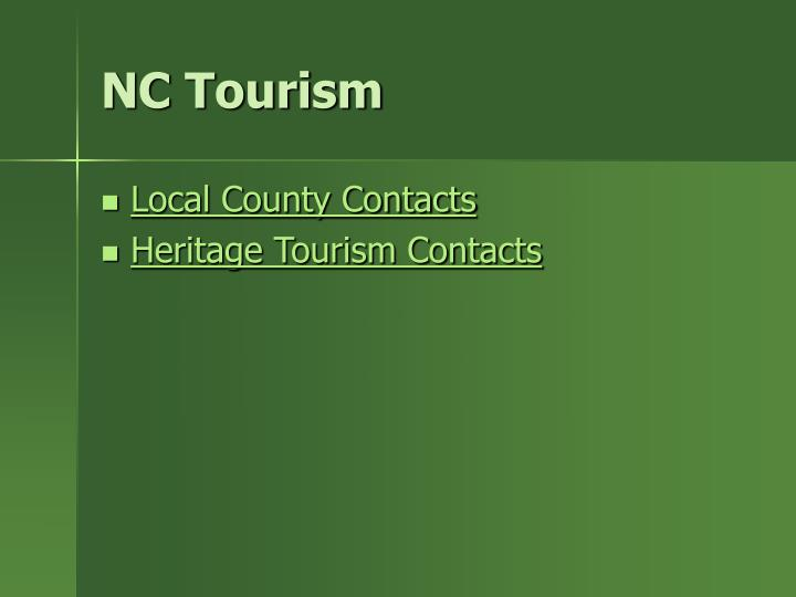NC Tourism