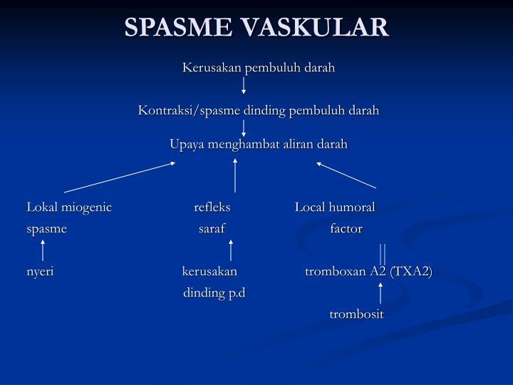 SPASME VASKULAR