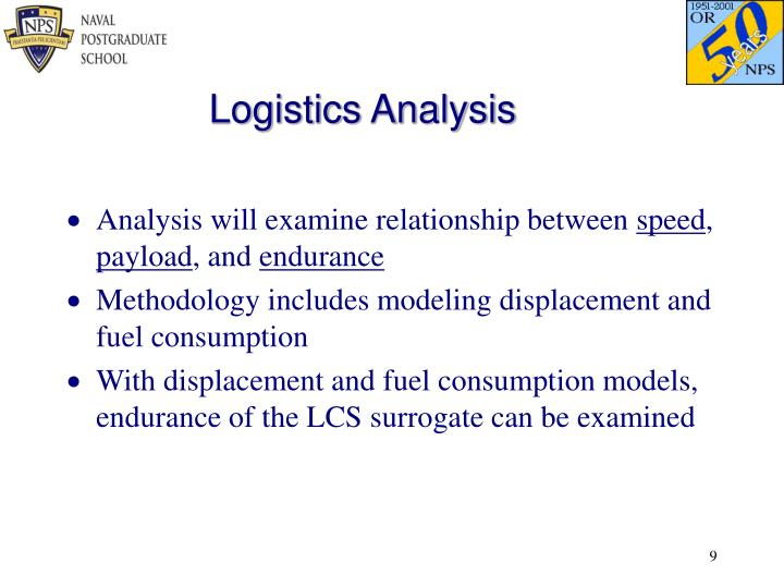 Logistics Analysis