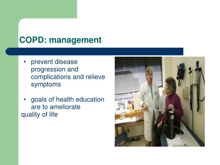 COPD: management