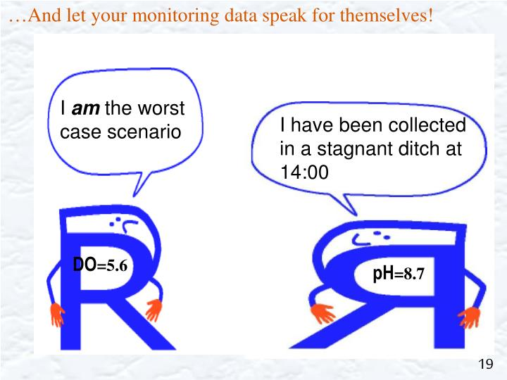 …And let your monitoring data speak for themselves!
