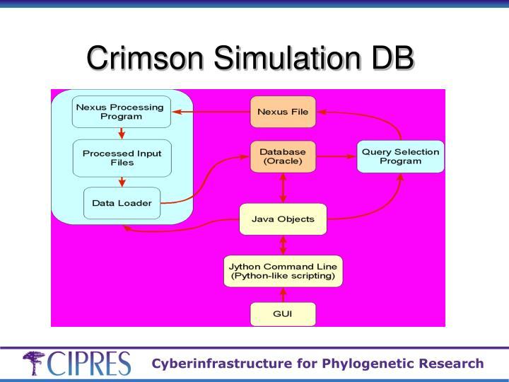 Crimson Simulation DB