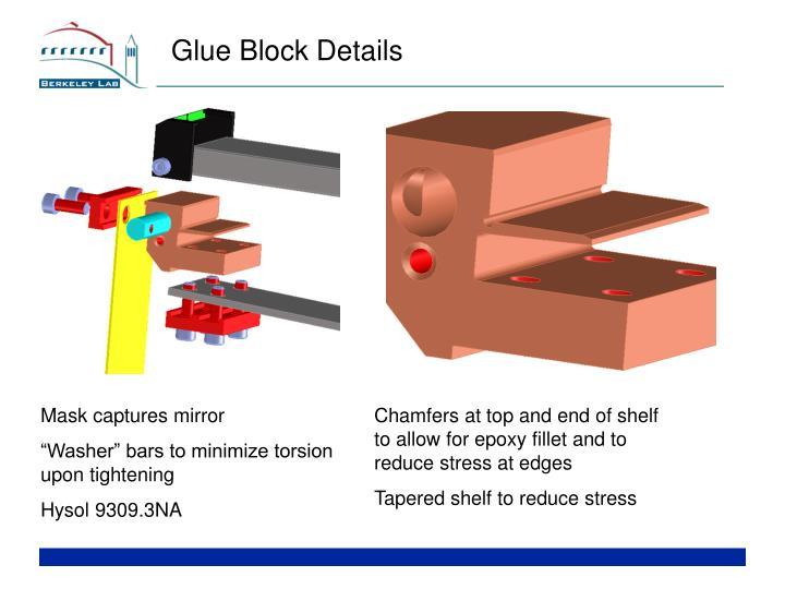 Glue Block Details