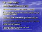 the model inputs