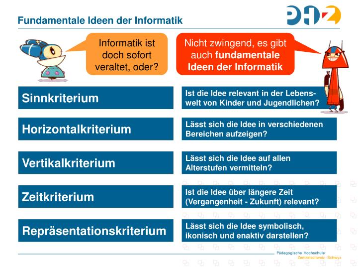 Fundamentale Ideen der Informatik