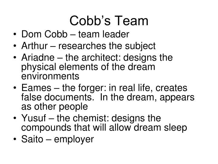 Cobb's Team