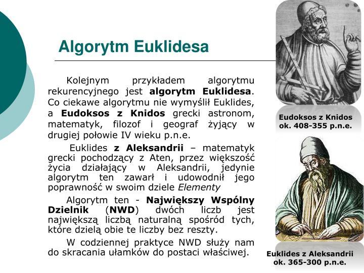 Algorytm Euklidesa