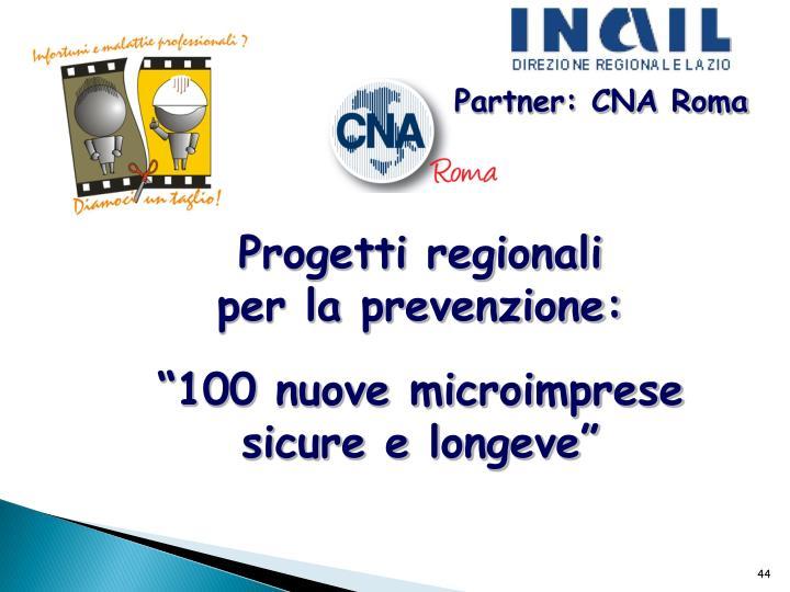 Partner: CNA Roma