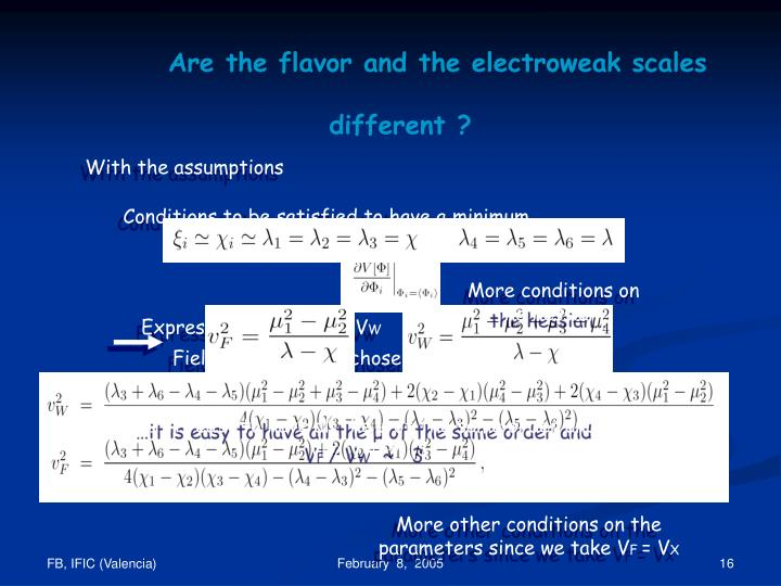Are the flavor and the electroweak scales