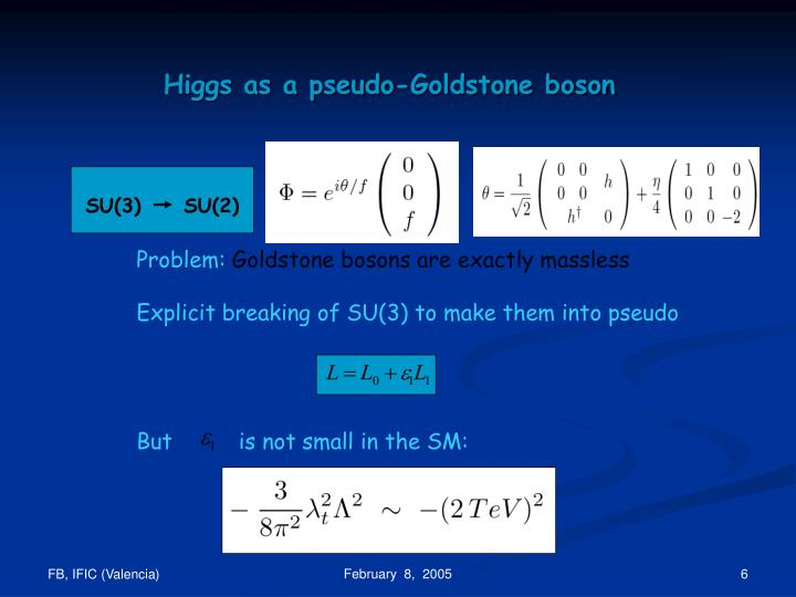 Higgs as a pseudo-Goldstone boson