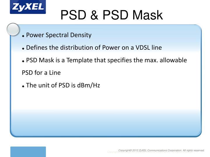 PSD & PSD Mask