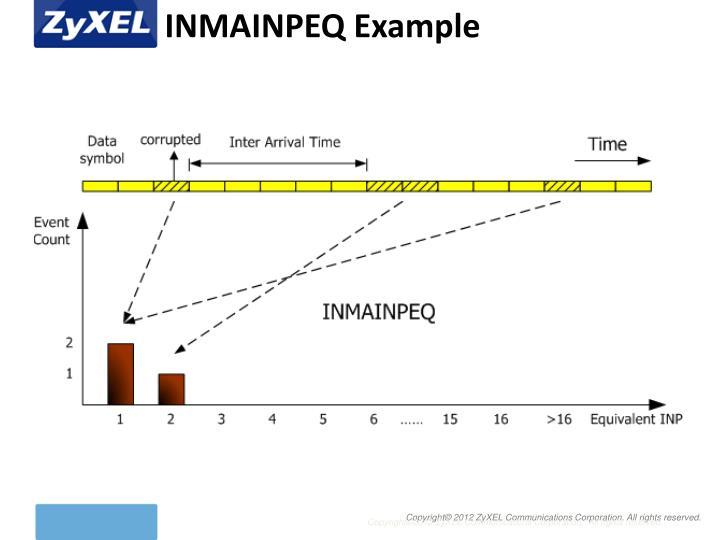 INMAINPEQ Example