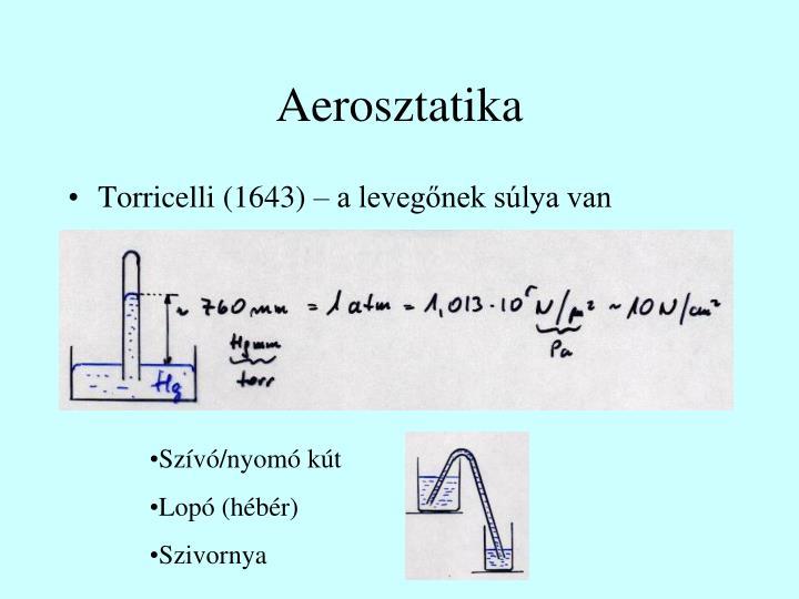 Aerosztatika