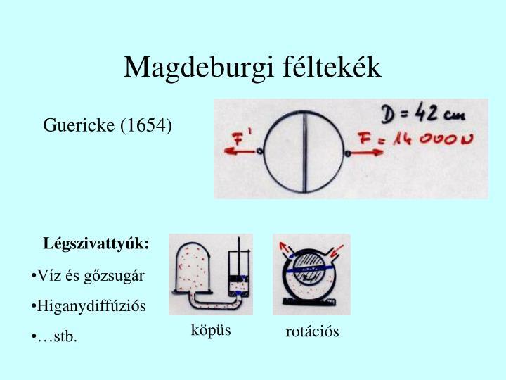 Magdeburgi féltekék