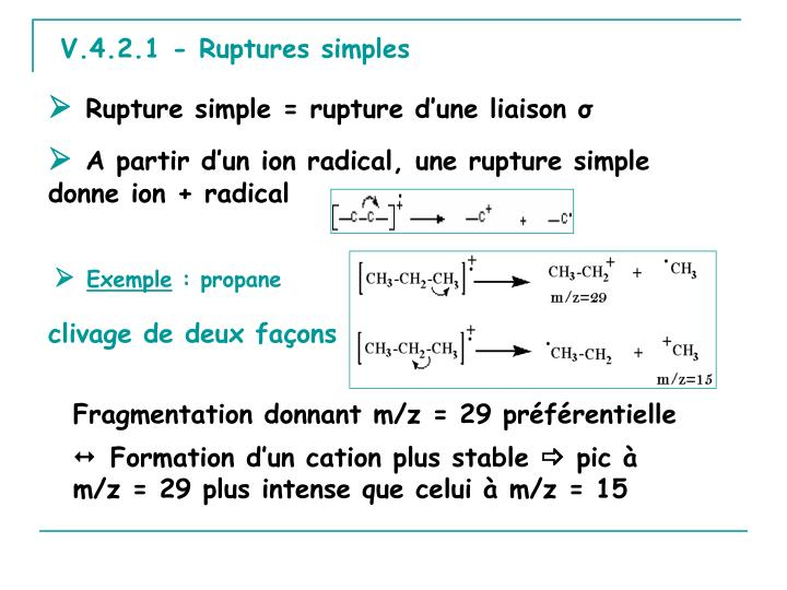 V.4.2.1 - Ruptures simples