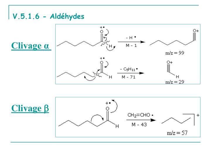 V.5.1.6 - Aldéhydes
