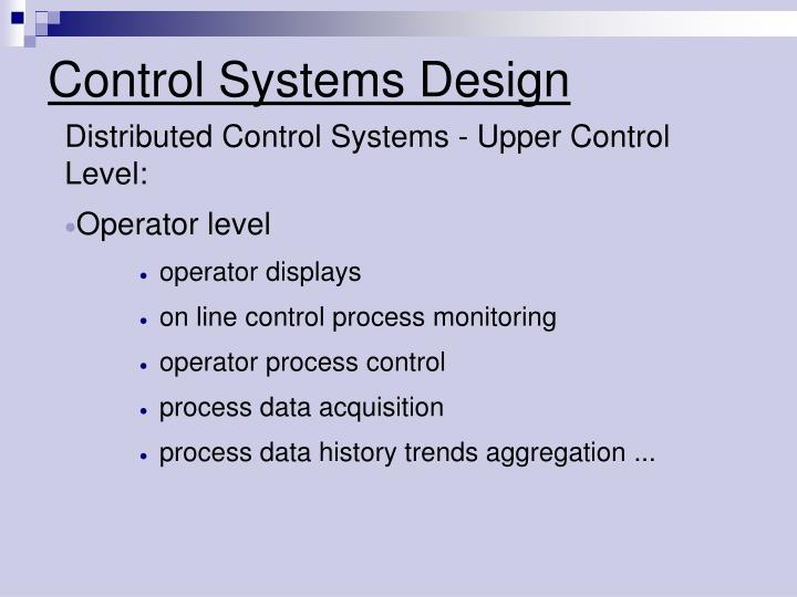 Control systems design2