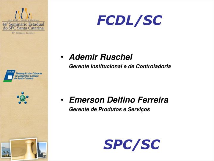 FCDL/SC