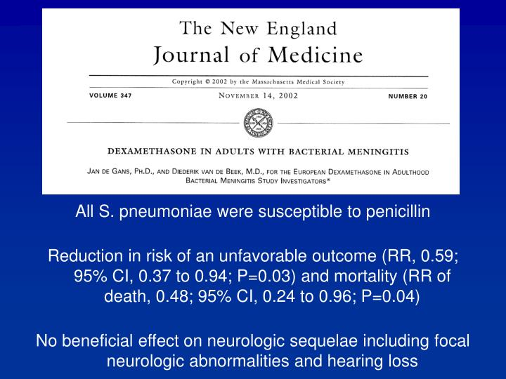 All S. pneumoniae were susceptible to penicillin