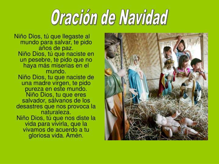 Oracin de Navidad