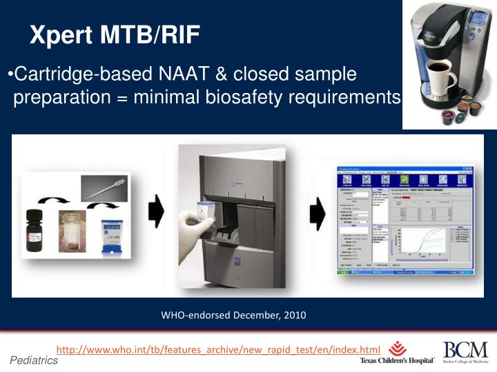 Xpert MTB/RIF