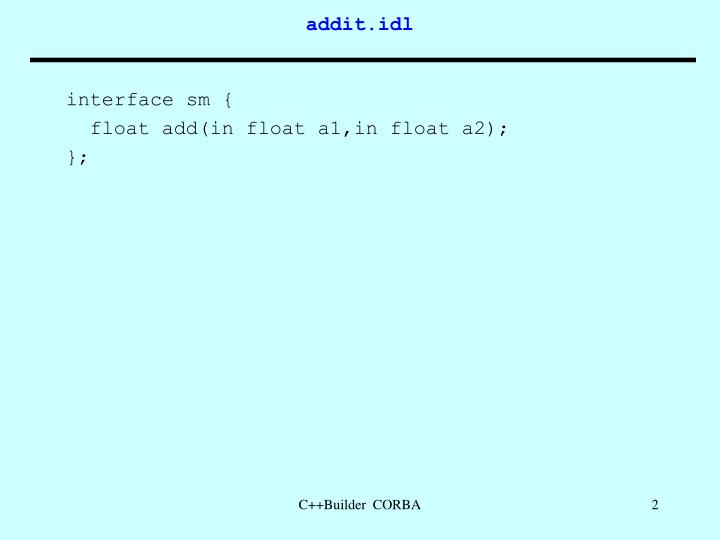 interface sm {