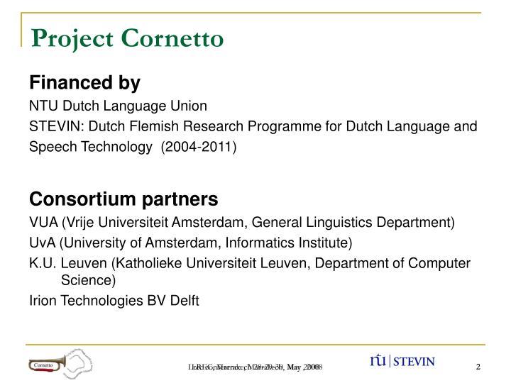 Project Cornetto
