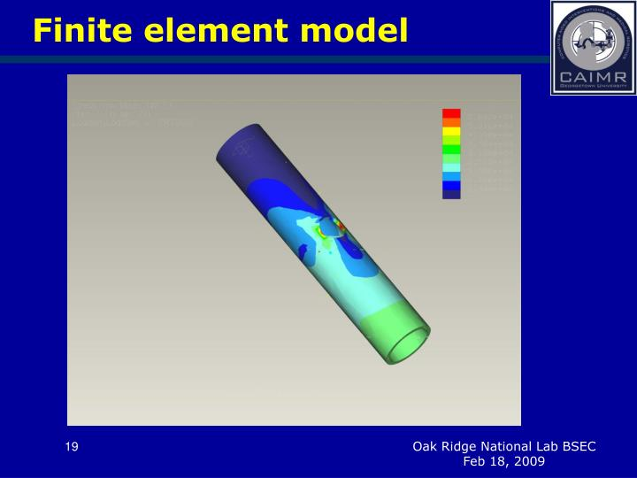 Finite element model