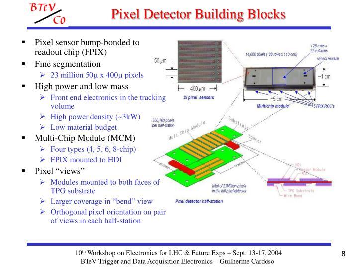 Pixel Detector Building Blocks