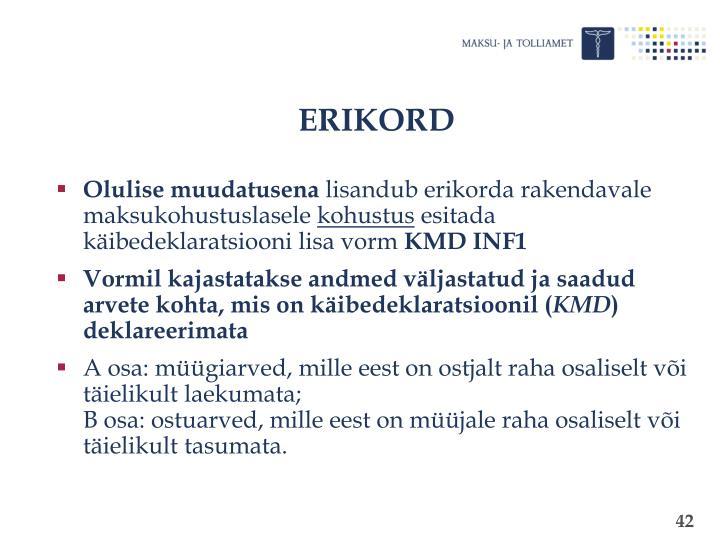 ERIKORD