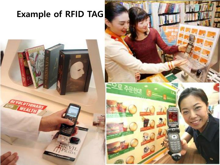 Example of RFID TAG