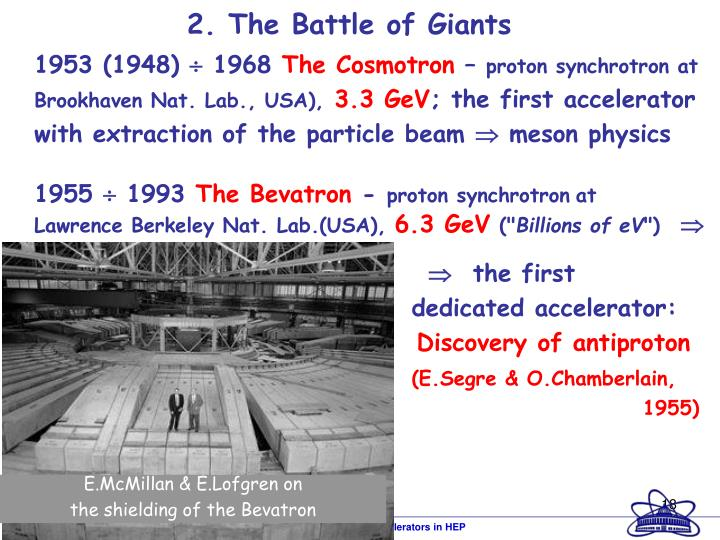 2. The Battle of Giants
