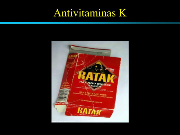 Antivitaminas K