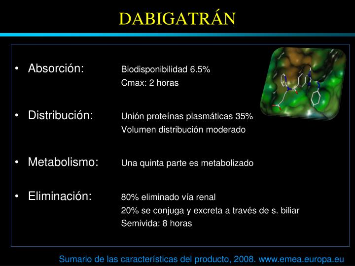 DABIGATRÁN