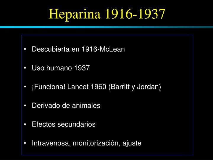 Descubierta en 1916-McLean