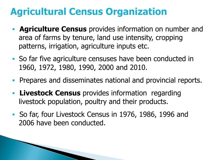 Agricultural Census Organization