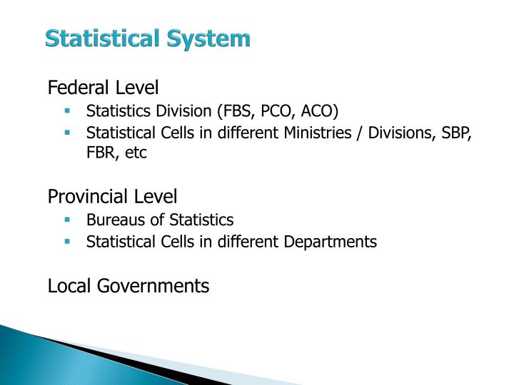 Statistical System