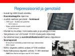 repressioonid ja genotsiid