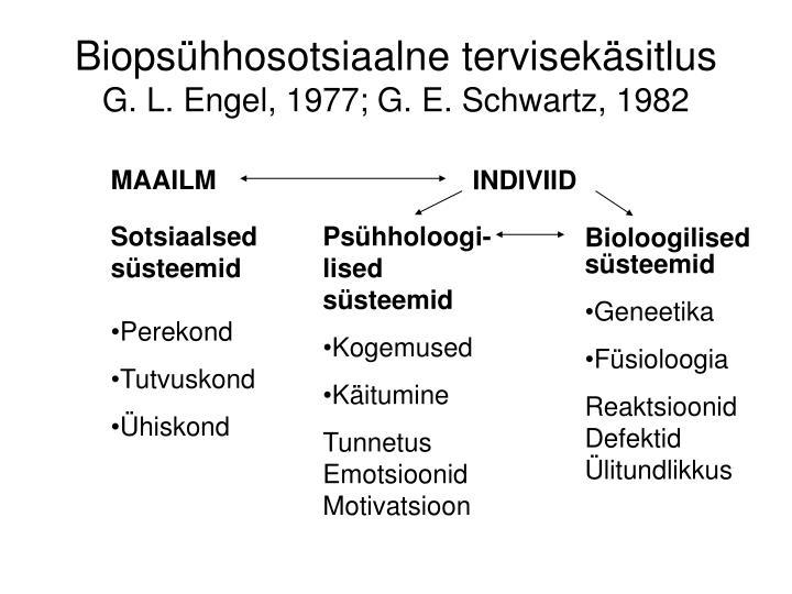 Biopsühhosotsiaalne tervisekäsitlus
