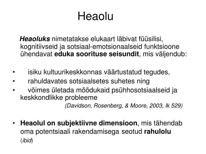 Heaolu
