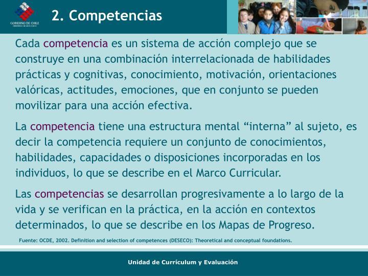 2. Competencias