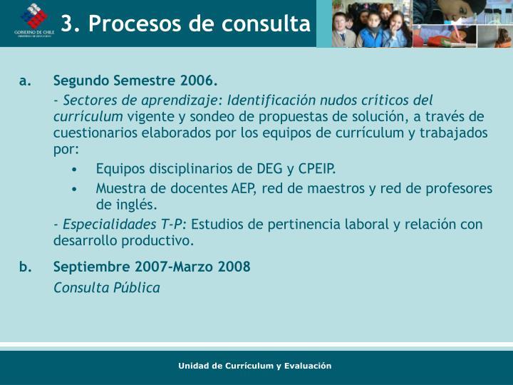 Segundo Semestre 2006.