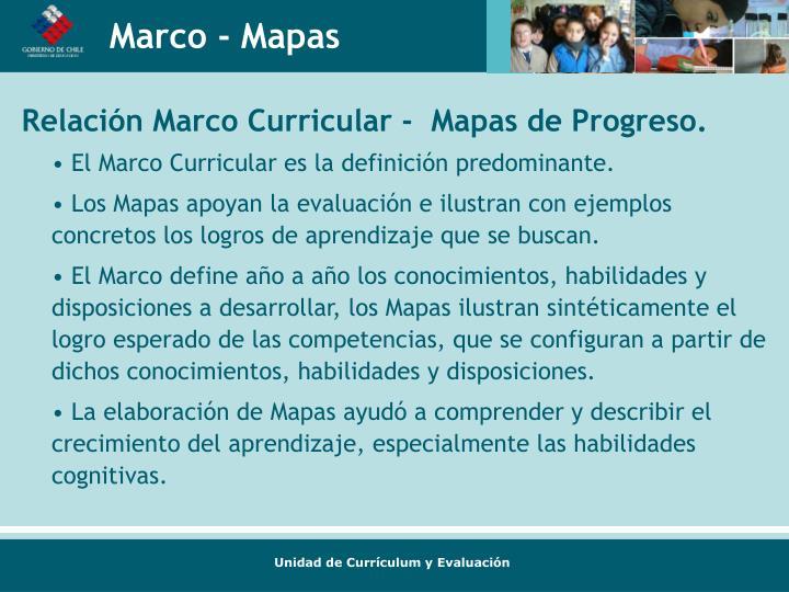 Marco - Mapas