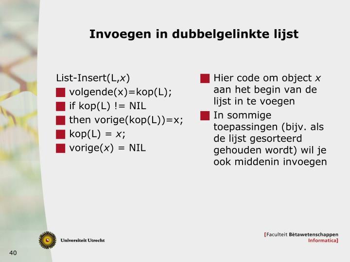 List-Insert(L,
