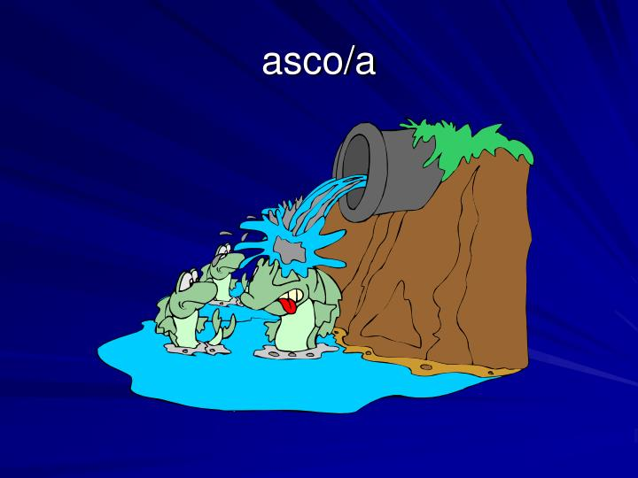 asco/a