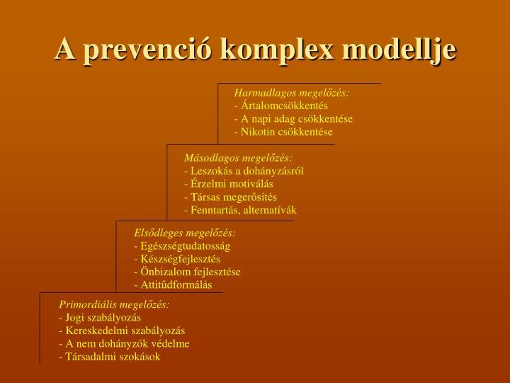 A prevenció komplex modellje