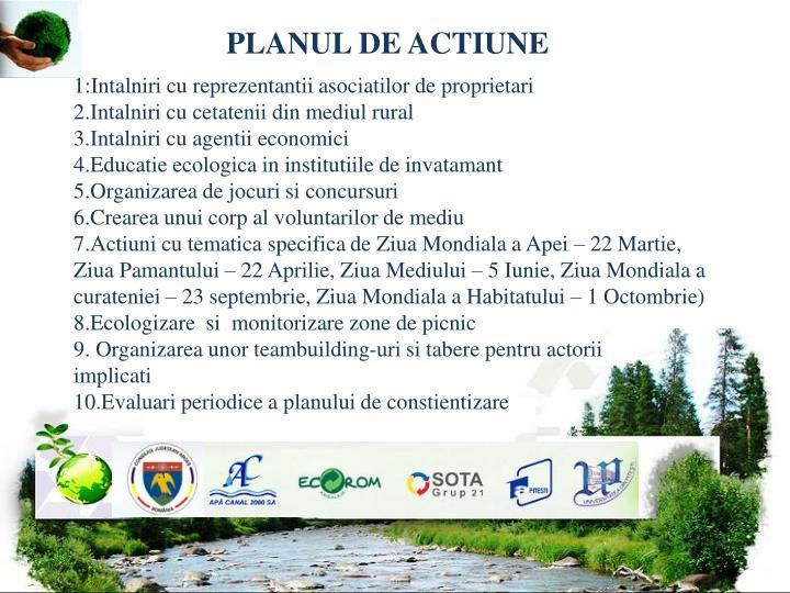 PLANUL DE ACTIUNE