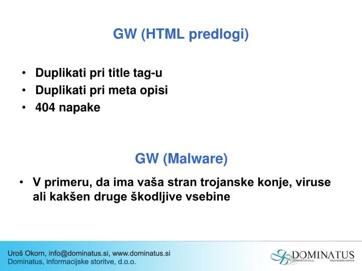 GW (HTML predlogi)