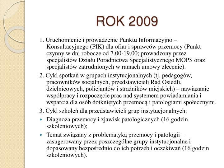 ROK 2009